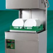 Eswood ES50 Heavy Duty Pass-Through Recirculating Dishwasher