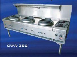 Goldstein CWA-3B2 Gas Wok Range