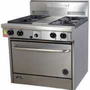 Goldstein PF-4-28 Gas 4 burner Oven Range