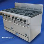 Goldstein PF-8-2/20 Gas 8 burner Double Oven Range