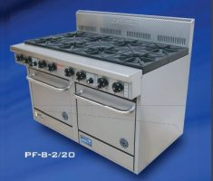Goldstein PF-8-2/20 Gas 8 burner Double Oven Range