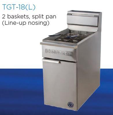 Goldstein TGF-18(L) Gas 2 basket Fryer
