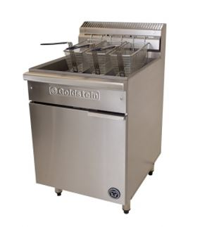 Goldstein VFG-24(L) Gas 3 basket Fryer