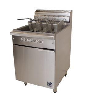 Goldstein VFG-24(L) Gas 3 basket Fryer