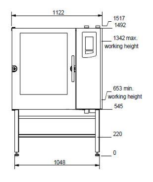 Houno CPE Line CPE2.10 Electric Combi oven