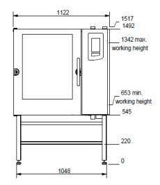 Houno K Line K2.10 Electric Combi Oven
