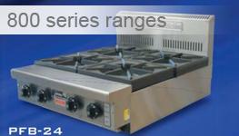 800 Series Ranges Cooktops