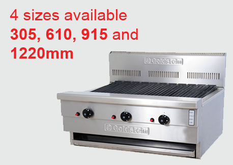 305, 610, 915 & 1220mm Char Broilers