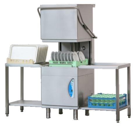 Lamber Lss415 Commercial Pass Through Dishwasher │ Clem Tech